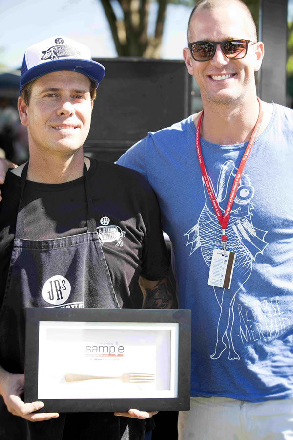Golden Fork Award, Northern Rivers Food, Sample Food Festival